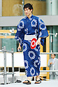 Maharu Yoshimura, <br /> JULY 24, 2017 : <br /> Event for Tokyo 2020 Olympic and Paralympic games is held <br /> at Toranomon hills in Tokyo, Japan. <br /> &quot;Tokyo Olympic Ondo&quot; will be renewed as Tokyo Olympic Ondo - 2020 -&quot;.<br /> (Photo by Yohei Osada/AFLO SPORT)