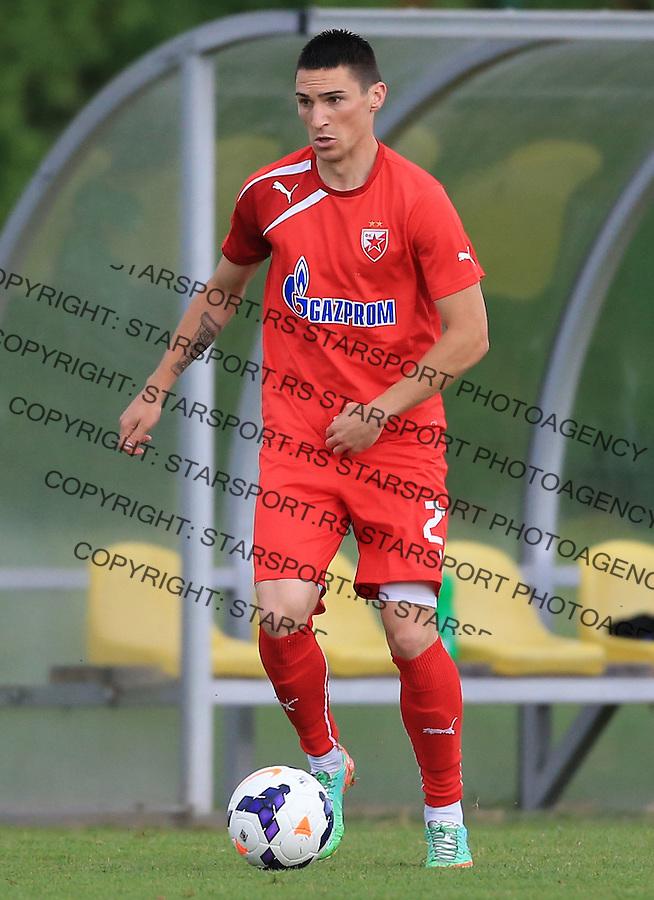 Fudbal season 2013-2014<br /> FK Crvena Zvezda pripreme<br /> Prijateljski mec<br /> Crvena Zvezda v Verzej<br /> Predrag Djordjevic<br /> Brezice, 07.09.2014.<br /> foto: Srdjan Stevanovic/Starsportphoto &copy;