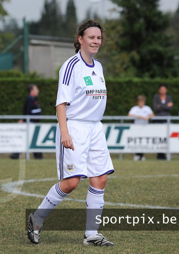 DVK Egem - RSC Anderlecht : Anneleen Segers.foto DAVID CATRY / Vrouwenteam.be