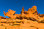 Amazing rock configurations in an area known as Little Finland on public land in southern Nevada, just east of Lake Mead.