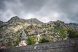 MONTENEGRO, Bay of Kotor, Old Town Wall and Old Town Kotor, Ben M Thomas