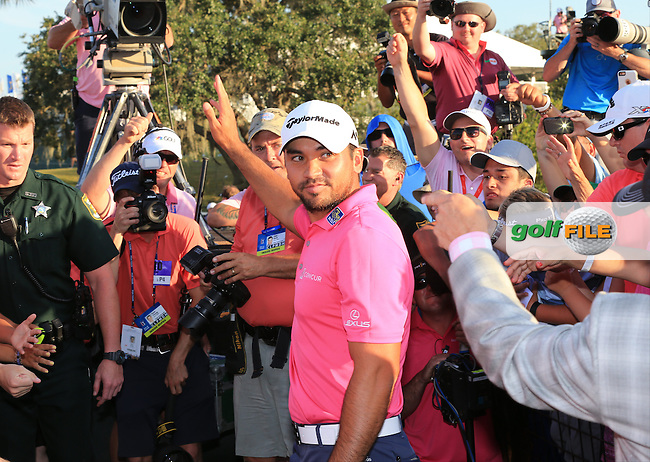 Jason Day (USA) Champion  of The Players 2016 , TPC Sawgrass, Ponte Vedra Beach, Jacksonville.   Florida, USA. 15/05/2016.<br /> Picture: Golffile | Mark Davison<br /> <br /> <br /> All photo usage must carry mandatory copyright credit (&copy; Golffile | Mark Davison)