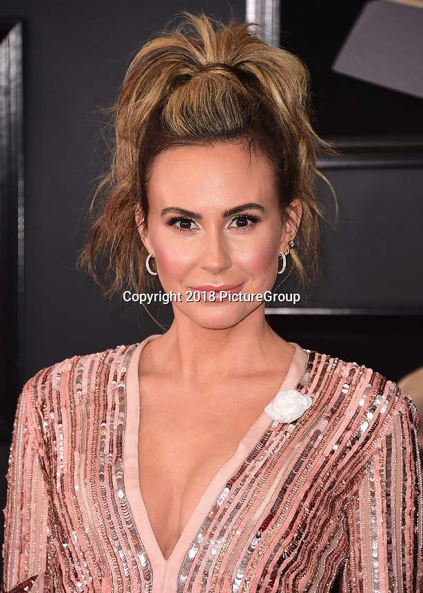 NEW YORK - JANUARY 28:  Keltie Knight at the 60th Annual Grammy Awards at Madison Square Garden on January 28, 2018 in New York City. (Photo by Scott Kirkland/PictureGroup)