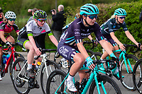 Picture by Alex Whitehead/SWpix.com - 04/05/2018 - Cycling - 2018 Asda Women's Tour de Yorkshire - Stage 1: Barnsley to Ilkley - Manon Lloyd of Trek Drops in action.
