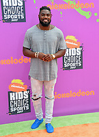Landon Collins at Nickelodeon's Kids' Choice Sports 2017 at UCLA's Pauley Pavilion. Los Angeles, USA 13 July  2017<br /> Picture: Paul Smith/Featureflash/SilverHub 0208 004 5359 sales@silverhubmedia.com
