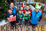 Enjoying the Children&rsquo;s Christmas Workshop at the Tralee Bay Wetlands on Saturday. <br /> Front l-r, Attila and Bendeguz Geiger, John Murphy, Kieran Galwey and Alan Balfe.