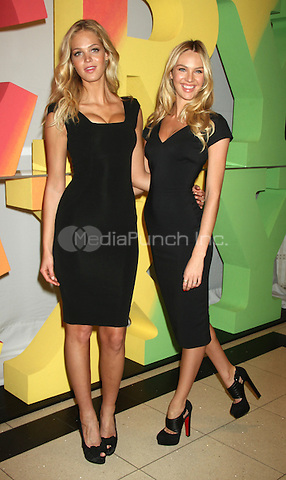 March 13, 2012 Erin Heatherton, Candice Swanepoel stop by Victoria's Secret Herald Square stop for Victoria's Secret Angels Very Sexy Tour to promote Very Sexy Push-Up Bra and Very Sexy Touch fragrance  in New York City.Credit:mpiRW/Mediapunchinc.com