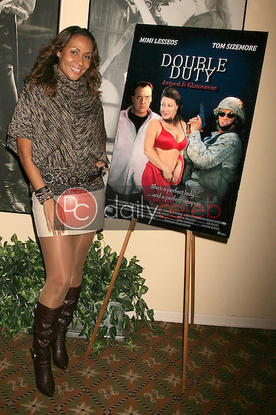 Kiki Haynes <br /> at the Los Angeles Screening of 'Double Duty'. Raleigh Studios, Los Angeles, CA. 12-13-08<br /> Dave Edwards/DailyCeleb.com 818-249-4998