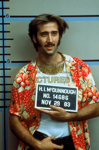 Nicolas Cage.in Raising Arizona (1987) .*Filmstill - Editorial Use Only*.CAP/NFS.Supplied by Capital Pictures.
