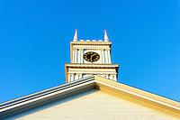 Old Whaling Church, Edgartown, Martha's Vineyard, Massachusetts, USA. Circa 1843