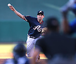 Reno Aces' Allen Webster pitches against the Las Vegas 51s in Reno, Nev., on Sunday, July 26, 2015.<br /> Photo by Cathleen Allison