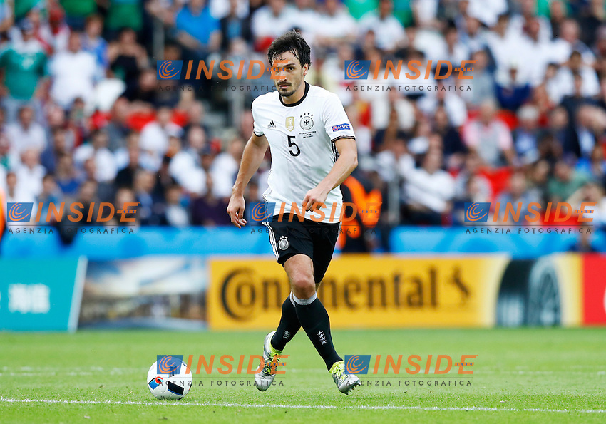 Mats Hummels Germany<br /> Paris 21-06-2016 Parc des Princes Football Euro2016 Northern Ireland - Germany  / Irlanda del Nord - Germania Group Stage Group C. Foto Matteo Ciambelli / Insidefoto