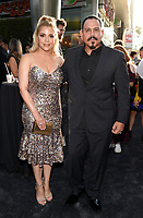 "LOS ANGELES - AUGUST 27:Yadi Valerio and Emilio Rivera attend the season two red carpet premiere of FX's ""Mayans M.C"" at the ArcLight Dome on August 27, 2019 in Los Angeles, California. (Photo by Frank Micelotta/FX/PictureGroup)"