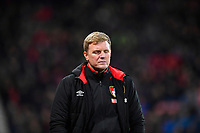 AFC Bournemouth Manager Eddie Howe has a moment of reflection during AFC Bournemouth vs Wigan Athletic, Emirates FA Cup Football at the Vitality Stadium on 6th January 2018