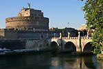 Castel Sant Angelo in the Vatican district of Rome.