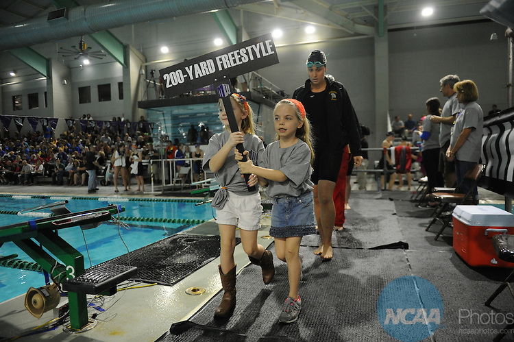21 FEB 2014:  The Mountain West Conference Swimming and Diving Championships are held at the Palo Alto College Aquatic Center in San Antonio, TX.  Ashley Landis/NCAA Photos