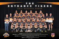 The Entrance Tigers pose for their 2016 Team Photo in the Arthur Lake Room at The Entrance Leagues Club in Bateau Bay, NSW Australia (Photo by Paul Barkley/LookPro)