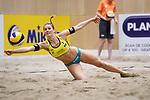 05.01.2019, Den Haag, Sportcampus Zuiderpark<br />Beachvolleyball, FIVB World Tour, 2019 DELA Beach Open<br /><br />Abwehr Kim Behrens (#1 GER)<br /><br />  Foto © nordphoto / Kurth