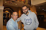 Gilbert Gottfried and Mark Drexler at Chiller Theatre - Toy, Model and Film Expo was held over the weekend - October 27, 2013 at the Sheraton Hotel, Parsippany, New Jersey -  (Photo by Sue Coflin/Max Photos)