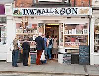 Butcher's shop, Ludlow, Shropshire.