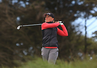 Romy Meekers (NED) on the 17th tee during Round 3 of the Irish Women's Open Stroke Play Championship 2018 on Saturday 13th May 2018.<br />