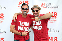 LOS ANGELES, CA - OCTOBER 16: Lawrence Zarian, Gregory Zarian at the ALS Association Golden West Chapter Los Angeles County Walk To Defeat ALS at Exposition Park in Los Angeles, CA on October 16, 2016. Credit: David Edwards/MediaPunch