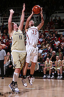30 December 2007: Jillian Harmon during Stanford's 77-42 win over the University of Washington at Maples Pavilion in Stanford, CA.