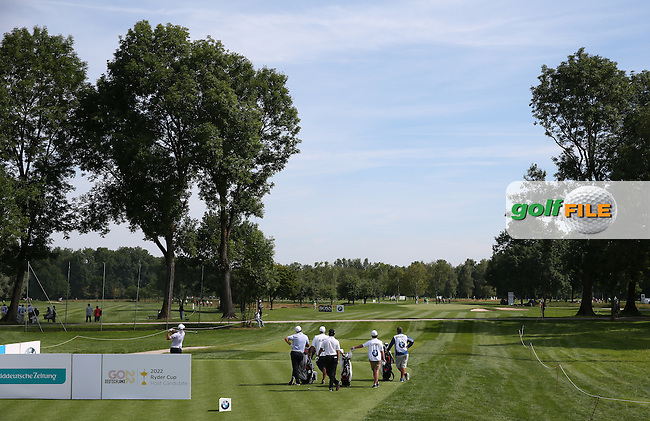 View of the 8th tee during Round One of the 2015 BMW International Open at Golfclub Munchen Eichenried, Eichenried, Munich, Germany. 25/06/2015. Picture David Lloyd | www.golffile.ie