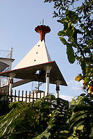 Tower at the Posada El Castillo, former home of Edward James in Xilitla, San Luis Potosi state, Mexico