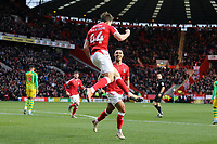 Josh Davison of Charlton Athletic celebrates his goal during Charlton Athletic vs West Bromwich Albion, Sky Bet EFL Championship Football at The Valley on 11th January 2020
