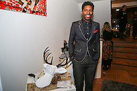 Jamal (@stylesocietyguy) at Creeds Collective Pop Up Shop at 54 Crosby Street, New York, New York on November 19, 2014. (Photos by Sara Wass)
