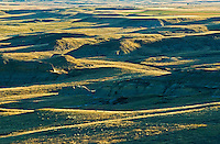 Killdeer Badlands in  East Block<br /> Grasslands National Park<br /> Saskatchewan<br /> Canada