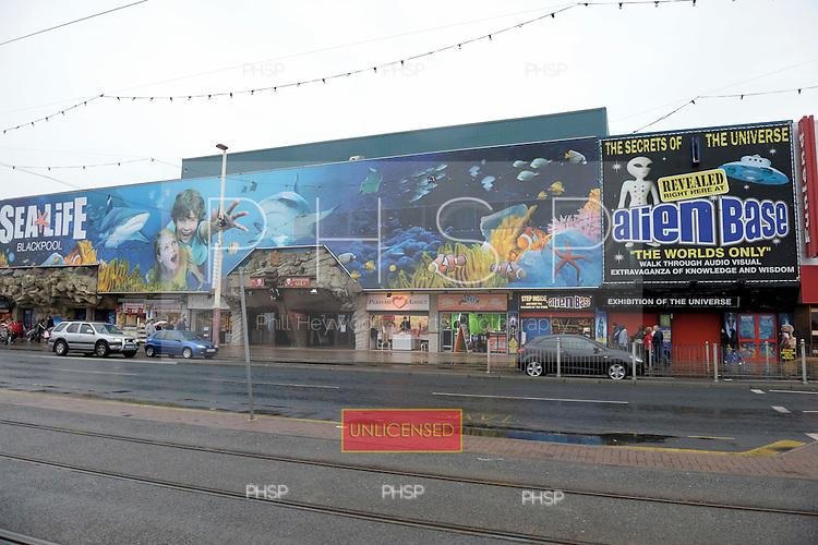 Sea Life Centre,  Promenade, Blackpool Lancashire UK......© Phill Heywood.