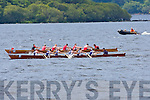 Action from the Killarney Regatta on Sunday ..