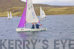 Muireann Keating & Ian Nugent taking part in the Inter Club Autumn Regatta in Cahersiveen at the weekend.