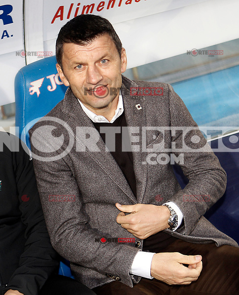 Real Valladolid's coach Miroslav Djukic during La Liga match.November 18,2012. (ALTERPHOTOS/Acero) NortePhoto