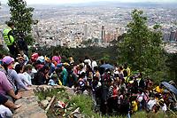 Jueves Santo en Monserrate , Bogotá, 13-04-2017