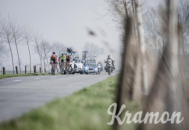 early breakaway through the Moeren.<br /> <br /> Bredene Koksijde Classic (2019) ( former Handzame Classic )<br /> Bredene > Koksijde 199km (BEL)<br /> <br /> ©kramon