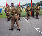 Dad's army re-enactment