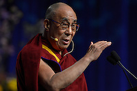 Dalai Lama at Sadat Lecture for Peace