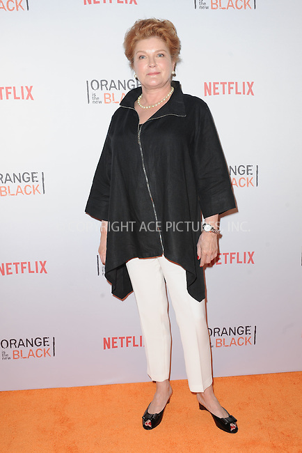 WWW.ACEPIXS.COM<br /> June 11, 2015 New York City<br /> <br /> Kate Mulgrew attending the 'Orangecon' Fan Event at Skylight Clarkson SQ on June 11, 2015 in New York City.<br /> <br /> Credit : Kristin Callahan/ACE Pictures<br /> Tel: (646) 769 0430<br /> e-mail: info@acepixs.com<br /> web: http://www.acepixs.com