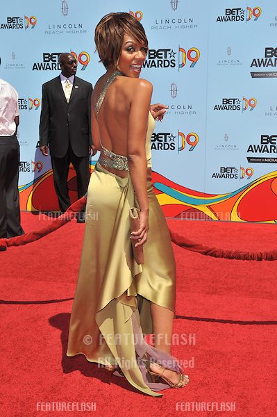 Wendy Raquel Robinson at the 2009 BET Awards (Black Entertainment Television) at the Shrine Auditorium..June 28, 2009  Los Angeles, CA.Picture: Paul Smith / Featureflash