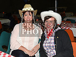 Marie carpenter and Sandra keelan pictured at the barn dance in aid of Ballapousta National School at Oberstown Farm. Photo:Colin Bell/pressphotos.ie