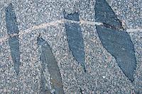Pattern of rocks in Långviksskär, Stockholm Archipelago, Sweden