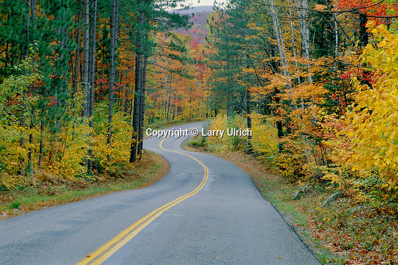 Groton-Marshfield State Highway<br /> Groton State Forest<br /> Caledonia County<br /> Vermont,  New England