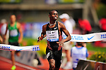 04.06.2011, Eugene, USA, Prefontaine Classic Track Meet, im Bild Kaki Khamis Abubaker (SUD) wins the men's 800m race with a time of 1:43.68 at the Prefontaine Classic at Hayward Field in Eugene, Oregon..June 4, 2011. EXPA Pictures © 2011, PhotoCredit: EXPA/ New Sport Photo +++++ ATTENTION - OUT OF USA  +++++