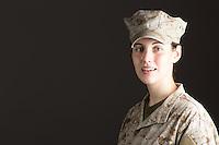 Woman, Model-Released, DoD-compliant