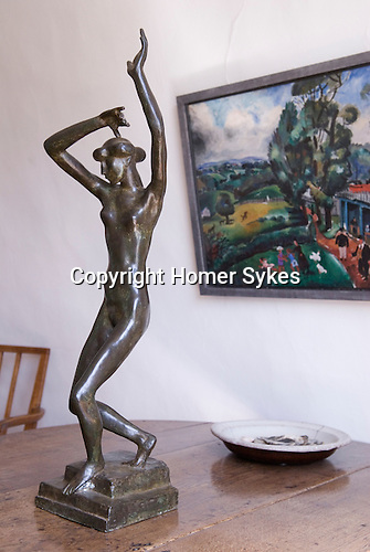 Kettles Yard  Cambridge Cambridgeshire England UK. Sculpture still life Henri Gaudier-Brzeska