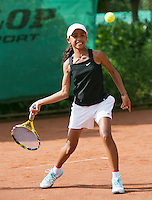 August 4, 2014, Netherlands, Dordrecht, TC Dash 35, Tennis, National Junior Championships, NJK,  Charlize Bernardus (NED)<br /> Photo: Tennisimages/Henk Koster