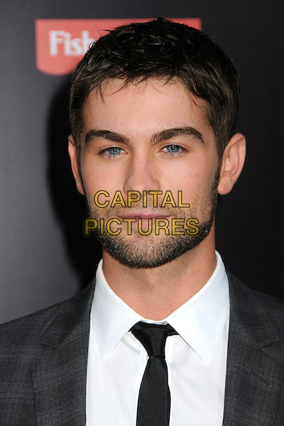 """Chace Crawford.""""What To Expect When You're Expecting"""" Los Angeles Premiere held at Grauman's Chinese Theatre, Hollywood, California, USA.  .May 14th, 2012.headshot portrait beard facial hair black  tie white shirt grey gray.CAP/ADM/BP.©Byron Purvis/AdMedia/Capital Pictures."""